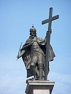 Kolumna Zygmunta statua 2006