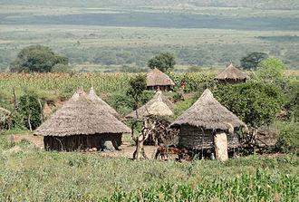 Konso people - Konso dwelling-houses