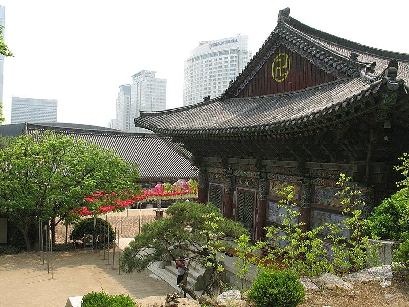 File:Korea-Seoul-Bongeunsa-01.jpg