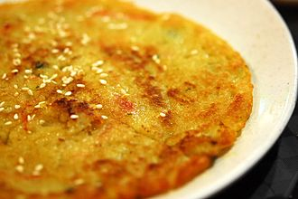 Potato pancake - Gamja-jeon