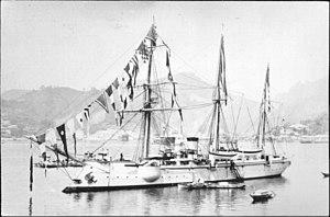 Russian gunboat Korietz - Image: Koreets