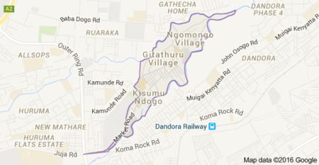 Korogocho Wikipedia - Where is nairobi