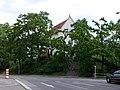 Kostel svatého Pankráce, od ulice Marie Cibulkové.jpg