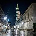 Krakow-klasztor Klarysek-noc.jpg