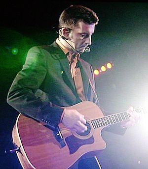 Kris Wauters - Kris Wauters during a concert at Sportpaleis Antwerp, 2005