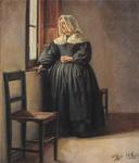 Kristian Zahrtmann - En enke. Civita d'Antino - 1883.png