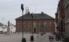 City Hall building as seen from the square