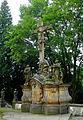 Krzeszów, cmentarz klasztorny, grupa Ukrzyżowanie -Aw58- 5.09.2010 r..JPG