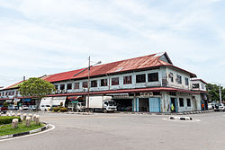 A shoplots in Kudat town.