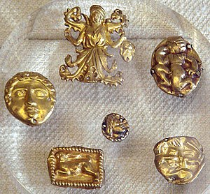 History of Crimea - The Scythian treasure of Kul-Oba, in eastern Crimea.