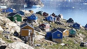 Kullorsuaq - Wooden houses in Kullorsuaq