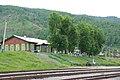 Kultuk station, Circum-Baikal Railway by trolleway, 2009 (31405236693).jpg