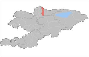 Нижне-Аларчинский айыльный округ на карте