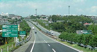 Kyushu Expressway - Kumamoto,Japan