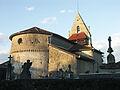 L'église Saint-Sébastien à Ganties (Haute-Garonne).JPG