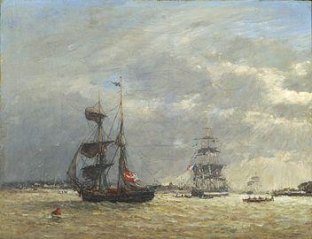 L'Escaut par temps orageux - Eugène Boudin.jpg