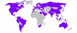 L'Oréal - Countries with L'Oréal products available