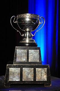 Calder Cup American Hockey League championship trophy