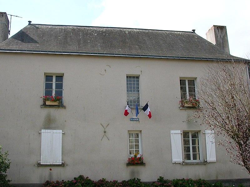 Town hall of La Ferrière-de-Flée