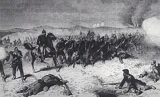 Battle of Sedan - The Prussian Guards at the battle.