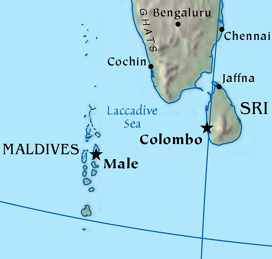 Laccadive Sea-Indian subcontinent CIA