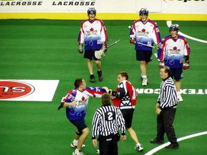 Toronto Rock - Fight against Calgary Roughnecks