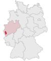 Lage des Kreises Düren in Deutschland.PNG