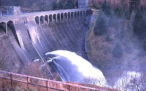 Lochaber hydroelectric scheme - Laggan Dam