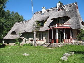 Ants Laikmaa - House of Laikmaa in Kadarpiku, designed by himself, now a museum.