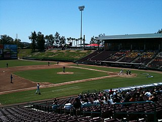 Lake Elsinore Diamond Stadium in California