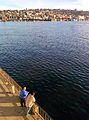 Lake Union and pedestrians at Gas Works Park.jpg