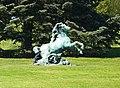 Laken Royal Castle statue horse.jpg