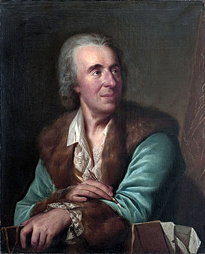 Lambert Krahe - Lambert Krahe (Portrait by Erik Pauelsen, 1781)