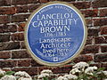 "Lancelot ""Capability"" Brown plaque at Hampton Court 01.jpg"