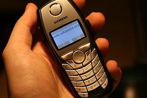 Landline text messaging