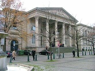 Leineschloss - Main Entrance