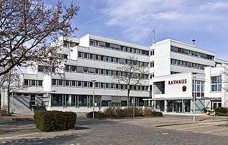 Langen, Hesse - The New Town Hall in Langen