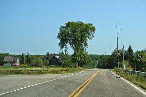 Nova Scotia Route 289 - Image: Lansdowne NS
