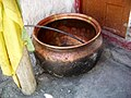 Large copper bowl. Dhankar Gompa.jpg