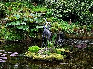 Larmer Tree Gardens - Ornamental pond
