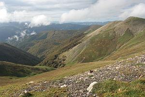 Salazar Valley - Valle de Salazar from above