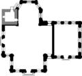 Laurentiuskirche-dirmstein entwurf-1740 grundriss.png