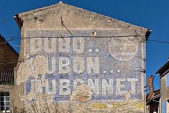 Dubonnet - Faded Dubonnet advertisement, Lautrec