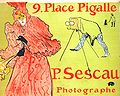 Lautrec the photographer sescau (poster) 1894.jpg