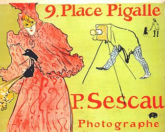 Lautrec the photographer sescau (poster) 1894.jpg