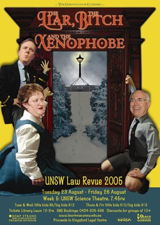 University of New South Wales Revues - Image: Lawrevue 2005