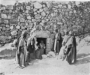 Al-Eizariya - Tomb of Lazarus, 1906