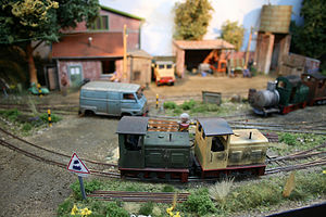 O14 - A scene from 0-14 layout Le Petit Depot by Escadrille St Michel