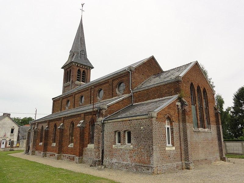 Le Thuel (Aisne) église