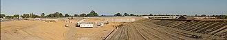 Tonkin Highway - Image: Leach interchange gnangarra 201 stitch v 2